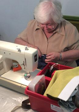 Repair cafe sewing