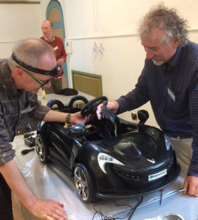 Paul & graham with car